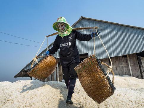 کارگران معادن نمک – تایلند