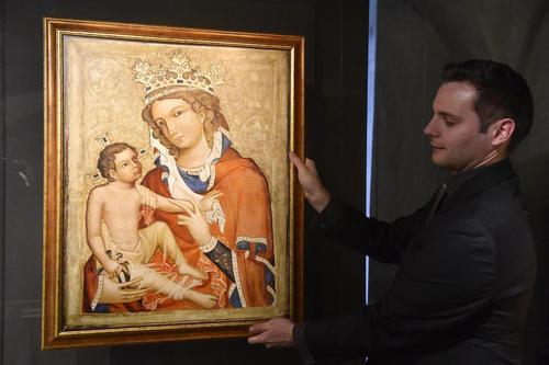 بازگرداندن یک تابلوی نقاشی نفیس متعلق به قرون وسطا از سوی دولت جمهوری چک به موزه کلیسای کاتولیک این کشور