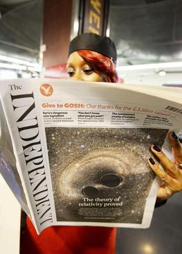 روزنامه ایندپندنت انگلیس اعلام کرده است پس از 30 سال از یکشنبه هفته جاری دیگر چاپ نخواهد شد و تنها نسخه اینترنتی خواهد داشت. 150 نفر از کارکنان این روزنامه بیکار خواهند شد