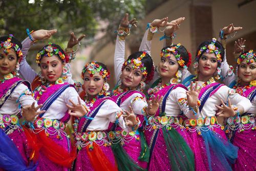 جشنواره سال نو چینی در شهر داکا بنگلادش