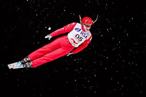 مسابقات بین المللی اسکی در کرسنویارسک روسیه