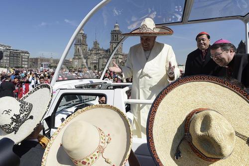 سفر 5 روزه پاپ فرانسیس به مکزیک
