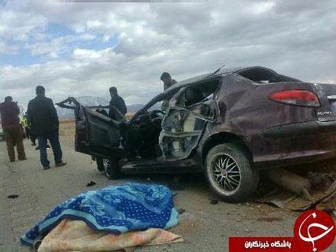 مرگ خبرنگار صدا و سیما در تصادف رانندگی (+عکس)