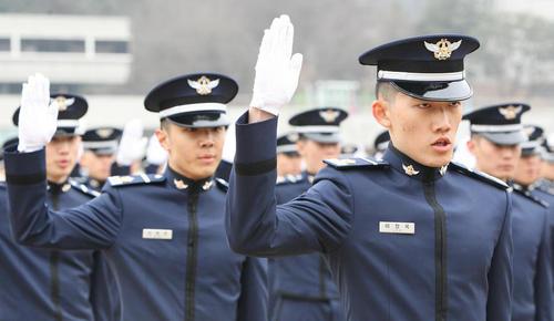 مراسم تحلیف کادر جدید نیروی هوایی ارتش کره جنوبی