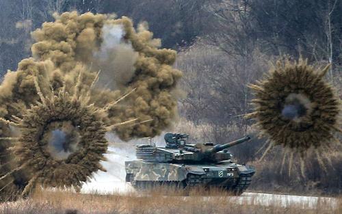 رزمایش ارتش کره جنوبی