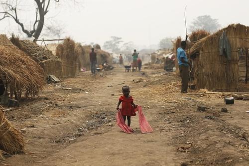 اردوگاه آوارگان جنگی در جمهوری آفریقای مرکزی