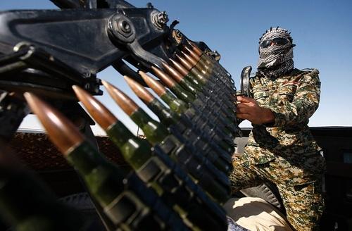 سرباز ارتش عراق در مرز با عربستان