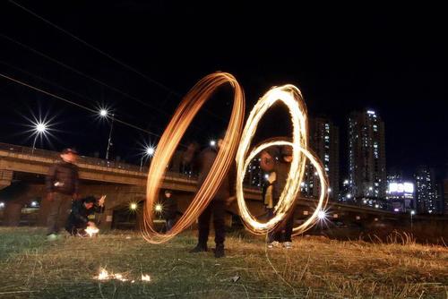 جشن روز ماه کامل در شهر سئول کره جنوبی