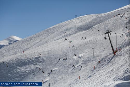 پیست اسکی دربند سر 80 کیلومتر از فرودگاه تهران فاصله دارد