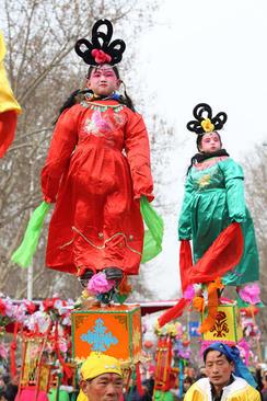 جشنواره آیینی در استان هنان چین