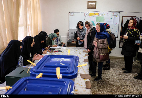 عکس:رای گیری در تهران