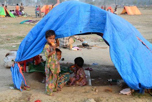بی خانمان های شهر الله آباد هند