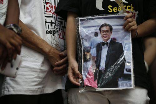 برگزاری دومین سالگرد مفقود شدن هواپیمای خطوط هواپیمایی مالزیایی در شهر کوالالامپور