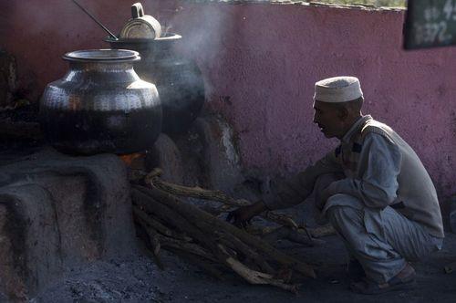آشپزخانه یک زیارتگاه در اسلام آباد پاکستان