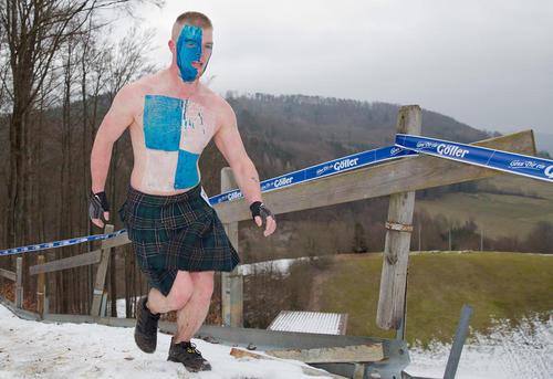 رقابت های انتخاب مرد شجاع در باواریا آلمان