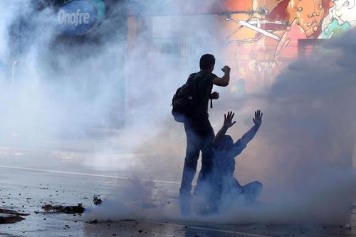 ادامه تظاهرات علیه رییس جمهور برزیل –سائوپائولو