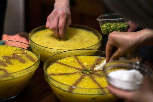 پخت غذاها و دسرهای ایرانی