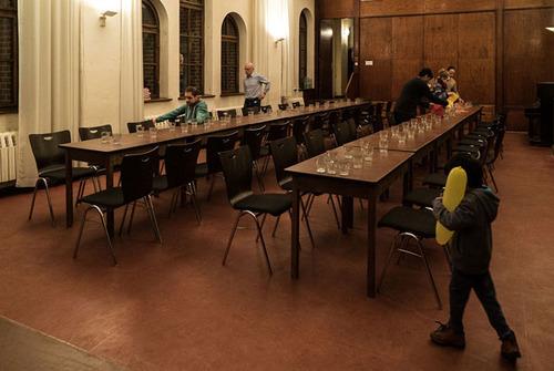 چیدن میز شام