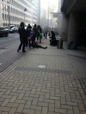 انفجار در مترو بروکسل