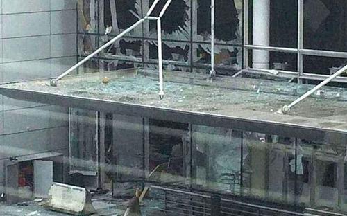 انفجار در فرودگاه بروکسل
