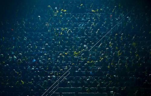 تماشاگران فوتبال در آلمان