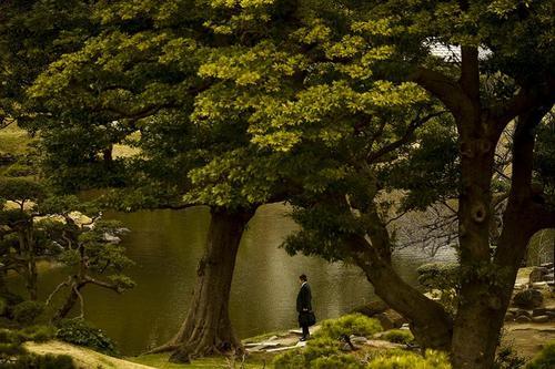 روزی گرم و آفتابی در باغ کیو-شیبا-رکیو باغ در توکیوی ژاپن. همین. عکس از رویترز، توماس پیتر
