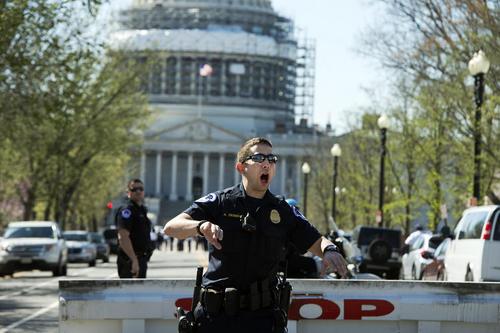 لحظه های التهاب تیراندازی در کنگره آمریکا در واشنگتن