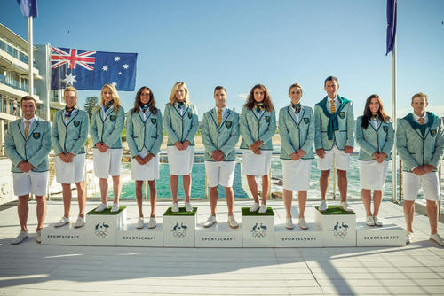 رونمایی از لباس رسمی ورزشکاران استرالیایی حاضر در المپیک 2016 ریو از سوی کمیته ملی المپیک این کشور – سیدنی