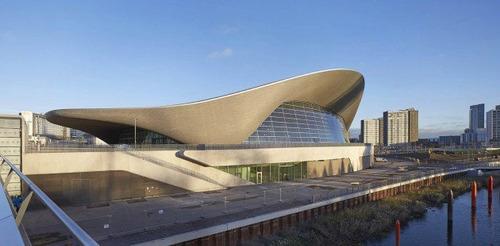 مرکز ورزشهای آبی لندن برای المپیک تابستانی 2012