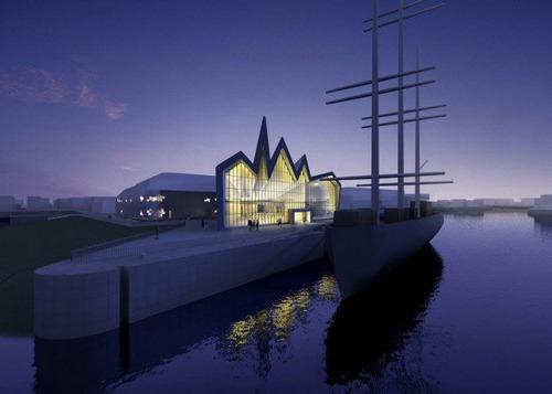 موزه حمل و نقل گلاسکو ریورساید (Glasgow Riverside)