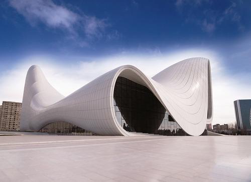 مرکز حیدر علی اف در باکو - جمهوری آذربایجان