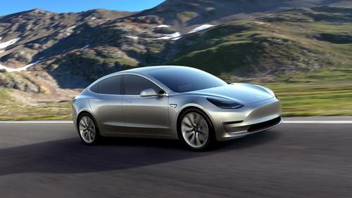 رونمایی از خودروی برقی 35 هزار دلاری شرکت تسلا در کالیفرنیا آمریکا . این شرکت در نظر دارد در نخستین سال تولید انبوه این مدل خودرو بیش از 500 هزار دستگاه از آن را تولید کند