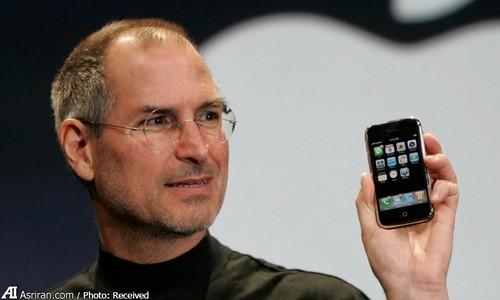 اولین دستگاه آیفون با حافظه 4 گیگابایت- 2007