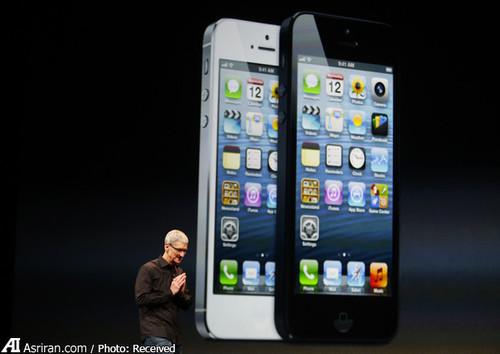 آیفون5 نسل ششم گوشی های هوشمند اپل است که در سال 2012 معرفی شد.