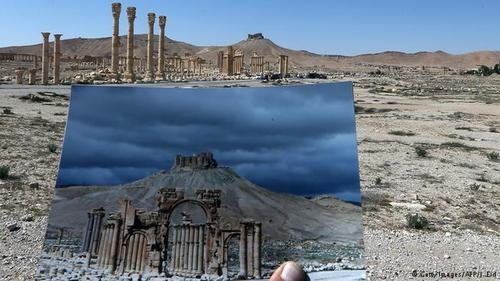 تروریستهای داعش روز یکشنبه ۳۰ اوت ۲۰۱۵ با انفجاری مهیب، به معبد