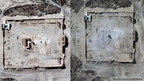 معبد باستانی بل با حدود ۴ هکتار وسعت بزرگترین مجموعه تاریخی در شهر پالمیرا بود.