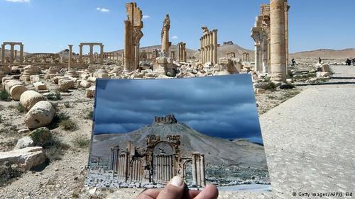 شهر باستانی پالمیرا پیش از آغاز ناآرامیها در سوریه، یکی از مهمترین جاذبههای گردشگری این کشور بود.