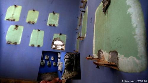 از جمله دیگر آثار باستانی پالمیرا که داعش آنها را تخریب کردهاند، آثار تاریخی موزه پالمیراست.