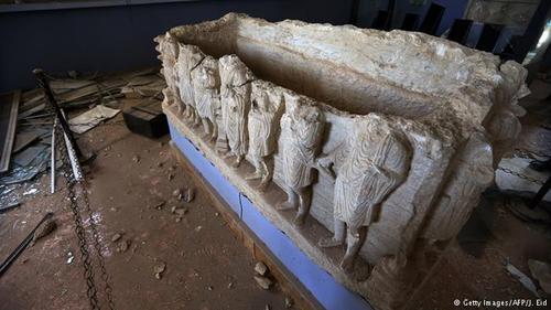 شهر باستانی پالمیرا که به