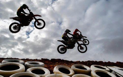 مسابقات موتور سواری آفریقای جنوبی در شهر کیپ تاون