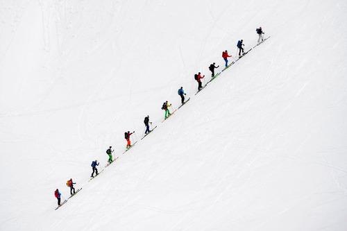 کوهنوردی در کوه های آلپ – سوییس