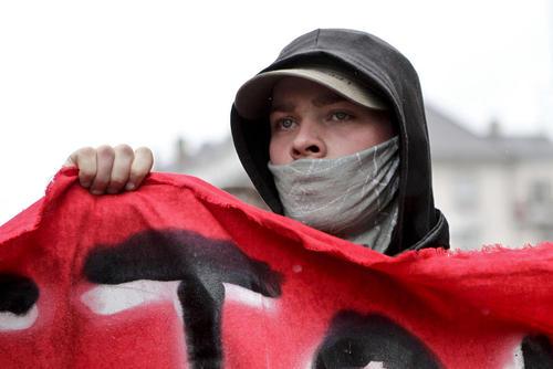 تظاهرات علیه اصلاح قانون کار در شهرهای استراسبورگ و پاریس فرانسه