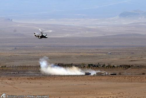 هلی کوپتر روسی قدرت نظامی روسیه بالگرد روسی اخبار سوریه Kamov Ka 50