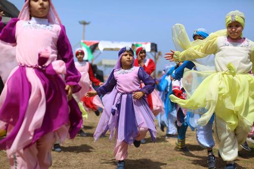 جشن روز کودکان در غزه