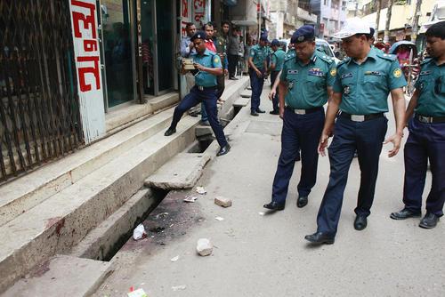 تحقیق پلیس بنگلادئش از محل قتل یک وبلاگر جوان سکولار به دست بنیادگرایان اسلامی