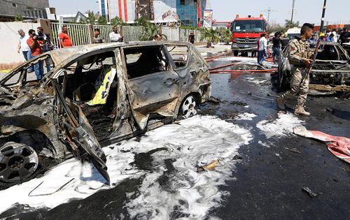 حمله انتحاری با یک خودرو در شهرستان بصره عراق