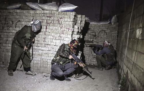 شبه نظامیان پ.ک.ک (حزب کارگران کردستان) در ترکیه