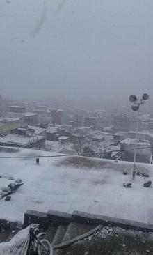 بارش برف در شهرستان سردشت- استان آذربایجان غربی- محمد عثمانی