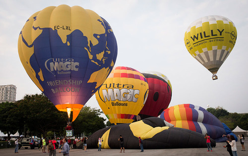 فستیوال بالون در پوتراجایا مالزی