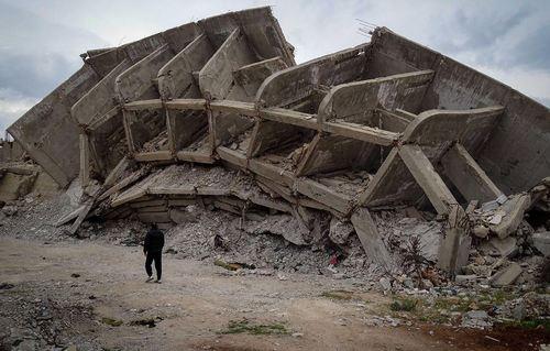 آثار جنگ در سوریه